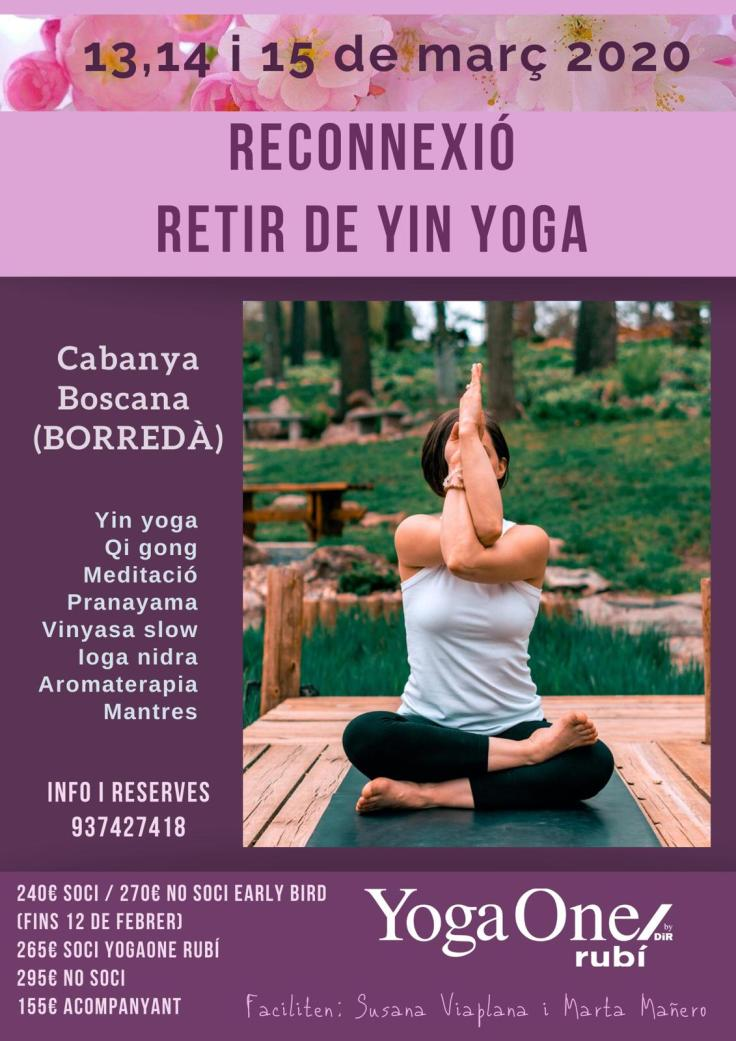 cartell retir Yin Yoga